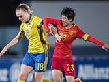 [女足]阿尔加夫杯C组第2轮:中国VS瑞典 上半场