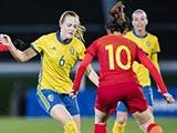 [女足]阿尔加夫杯C组第2轮:中国VS瑞典 下半场