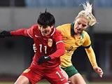 [女足]阿尔加夫杯C组第3轮:中国VS澳大利亚 下半场