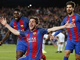 [欧冠]1/8决赛次轮:巴塞罗那6-1巴黎圣日耳曼 比赛集锦