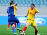 [女足]国际足球赛:中国VS克罗地亚 上半场
