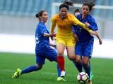 [女足]国际足球赛:中国VS克罗地亚 下半场
