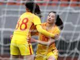 [女足]热身赛:中国2-1克罗地亚 比赛集锦
