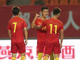 [国足]U22友谊赛:中国3-2乌兹别克斯坦 比赛集锦
