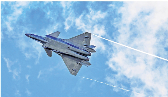 China Breakthroughs: Flying full-speed ahead on stealth fighter jets