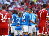 [国际足球]奥迪杯三四名决赛 拜仁不敌那不勒斯
