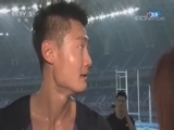 [全运会]张培萌:出现失误很遗憾 谢震业表现很棒