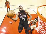 [NBA最前线]哈登爆料:周琦需要加强力量训练