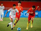 [国足]国际青年足球锦标赛:中国VS阿曼 上半场