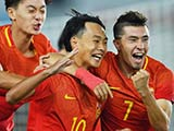 [国足]国际青年足球锦标赛:中国2-1阿曼 集锦