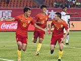 [国足]刘若钒传射叶尔凡建功 U19国足2-1胜阿曼