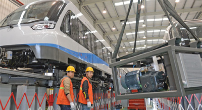 China Breakthroughs: CRRC prepares testing for faster maglev