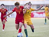 [女足]U19女足亚青赛:澳大利亚VS中国 上半场