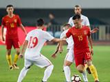 [国足]国际足球友谊赛:中国VS塞尔维亚 上半场