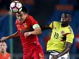 [国足]中国之队友谊赛:中国VS哥伦比亚 下半场