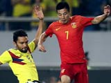 [国足]中国之队友谊赛:中国VS哥伦比亚 上半场