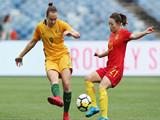 [女足]友谊赛:澳大利亚VS中国 上半场