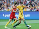 [女足]友谊赛:澳大利亚5-1中国 比赛集锦