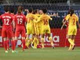 [女足]中国女足东亚杯3-1力克韩国 排名第三位