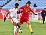 [国足]U23亚锦赛小组赛:中国VS阿曼 下半场