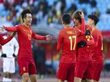 [国足]U23亚锦赛小组赛:中国3-0阿曼 比赛集锦