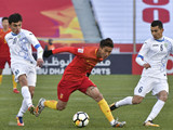 [国足]U23亚锦赛小组赛:乌兹别克斯坦VS中国 上半场