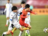 [国足]U23亚锦赛小组赛:乌兹别克斯坦VS中国 下半场