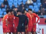 [国足]何超红牌 中国U23不敌卡塔尔无缘八强