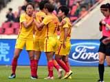 [女足]亚洲杯小组赛预演 中国女足逆转泰国队