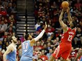 [NBA]哈登准三双 火箭轻取国王升至联盟榜首
