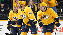 [NHL]常规赛:圣何塞鲨鱼VS纳什维尔掠夺者 第二节
