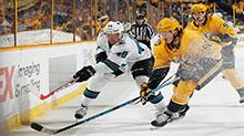 [NHL]常规赛:圣何塞鲨鱼VS纳什维尔掠夺者 第三节