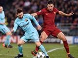 [欧冠]1/4决赛次回合:罗马3-0巴塞罗那 比赛集锦