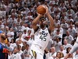 [NBA]季后赛4月24日:雷霆VS爵士 全场集锦