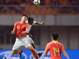 [国足]国际足球友谊赛:中国VS缅甸 下半场