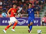 [国足]中国之队友谊赛:泰国VS中国 上半场
