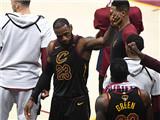 [NBA]总决赛6月9日:勇士VS骑士 詹姆斯集锦