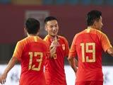 [国足]U23国际足球赛:中国VS伊朗 上半场