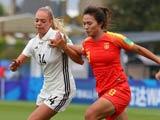 [女足]U20女足世界杯:德国VS中国 上半场