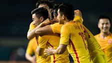 [亚运会]男足小组赛:叙利亚0-3中国 比赛集锦