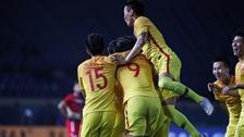 [亚运会]男足小组赛:叙利亚VS中国