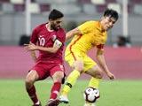 [国足]国际足球友谊赛:卡塔尔VS中国 上半场