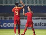 [國足]U19亞錦賽:中國2-0馬來西亞 比賽集錦