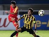 [國足]U19亞錦賽:中國VS馬來西亞 上半場