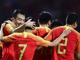 [國足]國際足球友誼賽:中國VS巴勒斯坦 上半場