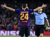 [歐冠]B組第6輪:巴塞羅那VS托特納姆熱刺 上半場