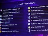 [歐冠]2018-19賽季歐冠聯賽16強淘汰賽抽簽儀式