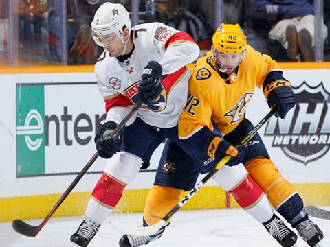 [NHL]常规赛:佛罗里达美洲豹VS纳什维尔掠夺者 第一节