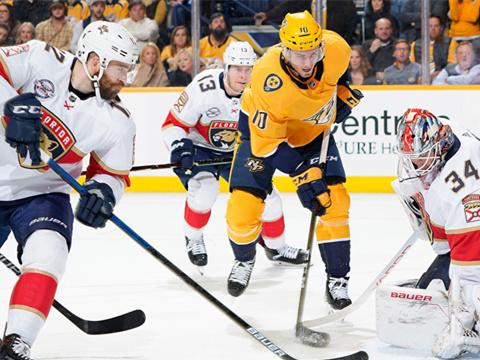 [NHL]常规赛:佛罗里达美洲豹VS纳什维尔掠夺者 第二节
