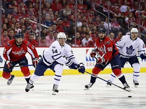 [NHL]华盛顿首都人3-6多伦多枫叶 比赛集锦